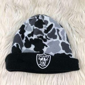 Starter Camo Oakland Raiders Beanie Hat Cap